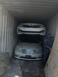 احباط محاولة تهريب عشرات السيارات اقصى جنوب العراق