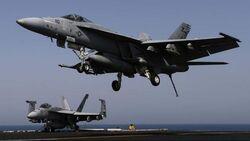 طائرات التحالف تفتك بأربعة دواعش وتحولهم لأشلاء في كركوك