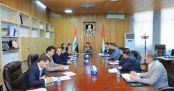 تقديم تقرير نهائي لمشروع قانون تمليك الأراضي المتجاوز عليها لرئاسة برلمان كوردستان