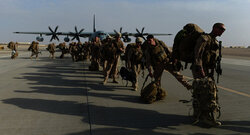 مقتل وجرح جنود امريكيين بهجوم القاعدة العسكرية في كركوك