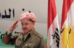 مسعود بارزاني مهنئا الكاظمي ويأمل حل الخلافات بين اربيل وبغداد