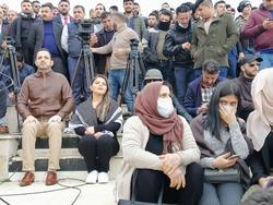 """صور .. انصار حراك """"الجيل الجديد"""" يتظاهرون في السليمانية"""