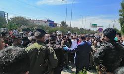 بعد السليمانية .. اصحاب محال في منطقة بإقليم كوردستان يتظاهرون (صور)