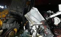 ديالى.. مصرع واصابة 5 اشخاص بحادث سير مروع على طريق الموت (فيديو)