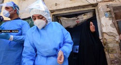 أكثر من 150 إصابة جديدة بكورنا بـ3 محافظات عراقية
