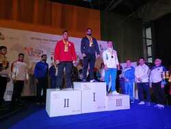 العراق يحصد الذهب في بطولة اسيا بالقوة البدنية