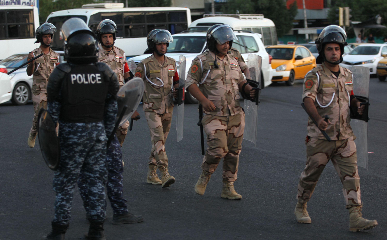 ذي قار تحذر من مبنى مفخخ يمنع المتظاهرون من وصوله وسلطات النجف تدعو للاحتجاجات