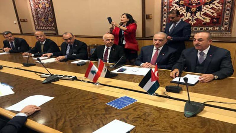 العراق في اجتماع رباعي لبحث ملف سوريا