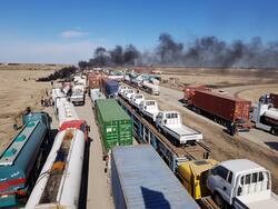 مصابون في محاولة فض اعتصام الناصرية جنوبي العراق