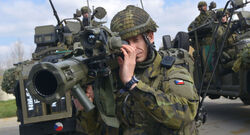 The Czech army withdraws its forces from Iraq