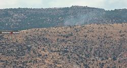 قصف تركي مكثف يستهدف قرى في إقليم كوردستان