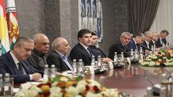 الكشف عن نتائج اجتماع بارزاني بالاطراف الكوردستانية في أربيل