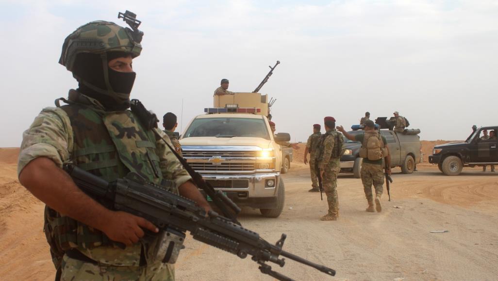 صور .. السلطات العراقية تعلن العثور على منصات الاطلاق لقصف الخضراء