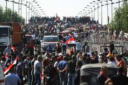 مقتل 5 متظاهرين في العاصمة بغداد