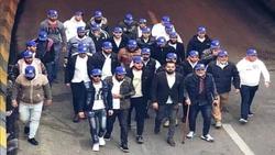 أصحاب القبعات الزرق يسلمون مواقعهم في كربلاء