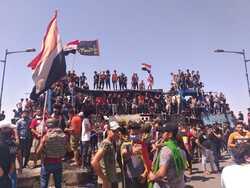 عودة التوترات لساحات الاحتجاجات في العراق