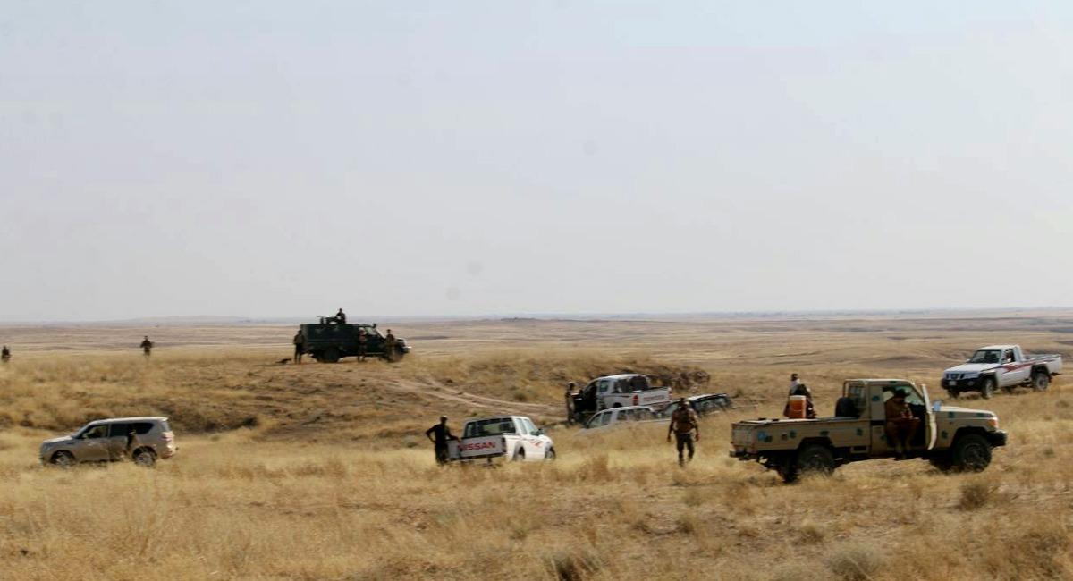 """القبض على عناصر من داعش اشتركوا بعمليات """"ارهابية"""" جنوب غرب كركوك"""