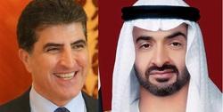 كوردستان والامارات تؤكدان على تعزيز علاقاتهما
