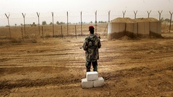 Fire breaks out at Abu Ghraib prison in Baghdad