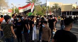 تجدد الاحتجاجات في محافظتين جنوب العراق