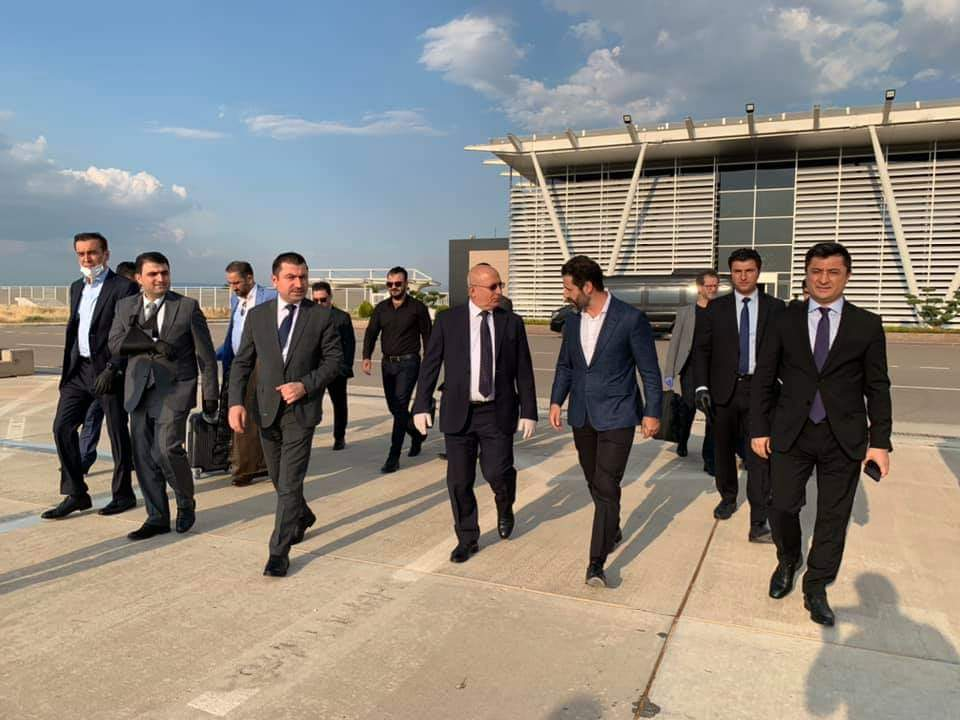 KRG delegation starts the second round of meetings with the Iraqi government