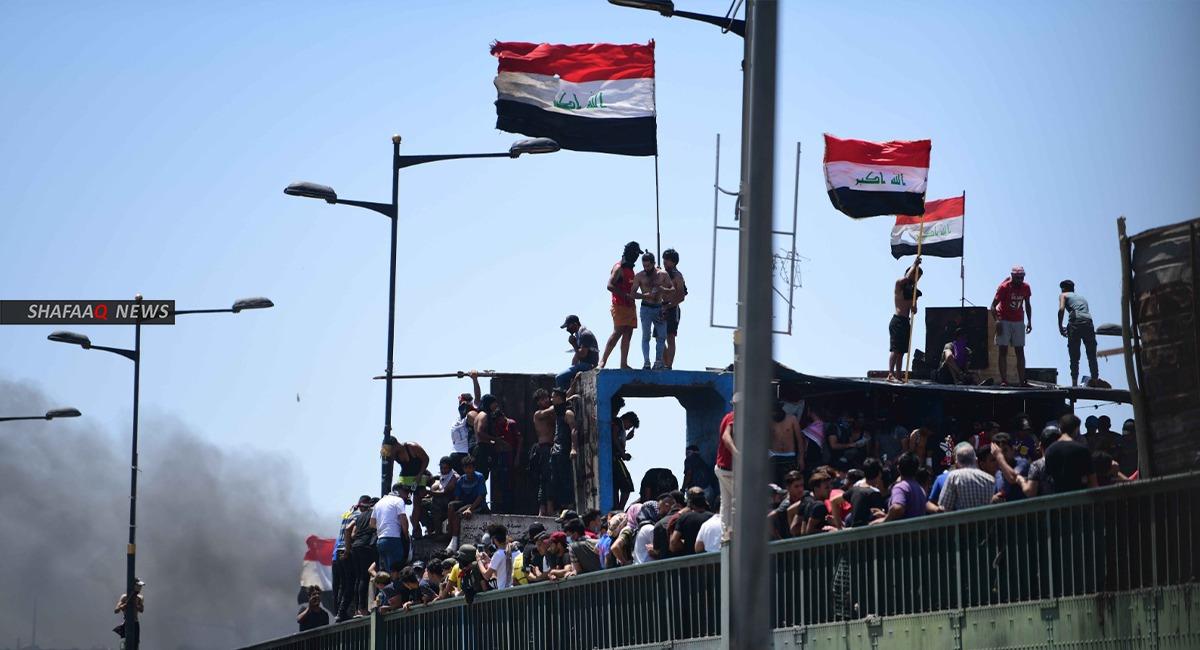 لأول مرة.. حكومة الكاظمي تلتقي متظاهرين في واسط