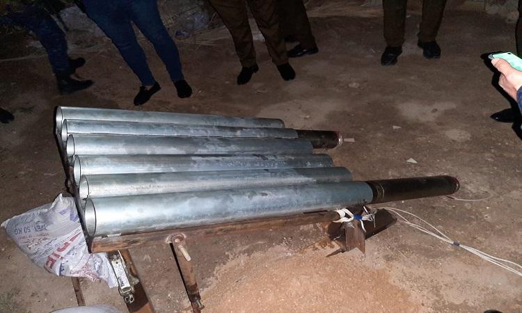 الاعلام الامني: سقوط صاروخي كاتيوشا على المنطقة الخضراء انطلقا من منطقتين
