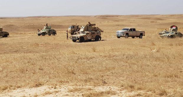 الجيش العراقي والحشد يطلقان عملية من اربعة محاور على خلايا داعش