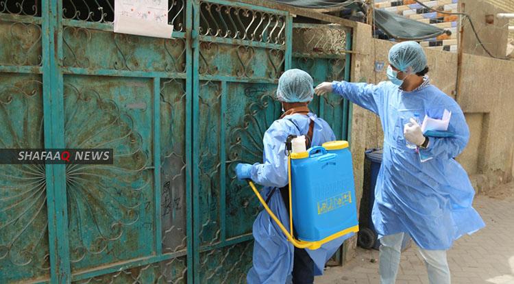 العراق يسجل حالة وفاة و91 اصابة جديدة بكورونا