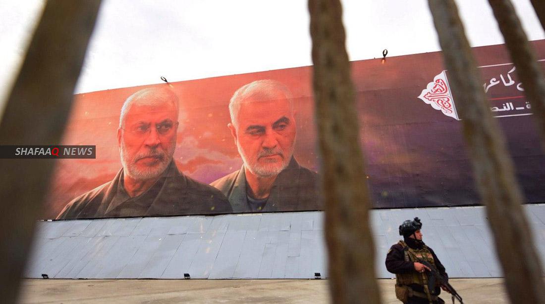 قائد ايراني كبير يبحث في العراق غداً ملف اغتيال سليماني والمهندس