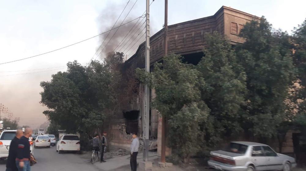 للمرة الثالثة.. حرق منزل مسؤول جنوبي العراق