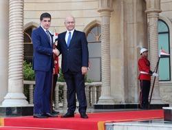 بيان رئاسي يكشف تفاصيل لقاء صالح- بارزاني