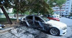 ليست الأولى.. إحراق سيارة مسؤول تركي في اليونان
