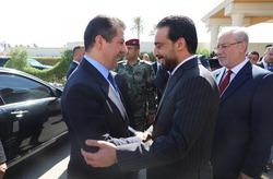 بارزاني يعلن نتائج الاجتماعات مع الرئاسات الثلاث في بغداد .. الحلبوسي: زيارتكم مهمة