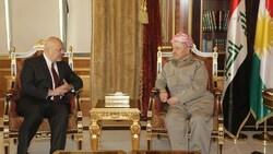 """بارزاني يبلغ الامم المتحدة امرا """"خطيرا"""" يحدث في العراق"""
