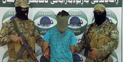"""""""ابو الحارث ديالى """" داعشي """"كبير"""" بقبضة الاسايش في اقليم كوردستان"""