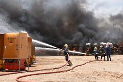 الدفاع المدني يكشف تفاصيل حريق جسر ديالى