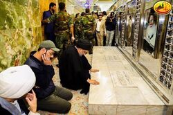 """الصدر يعلق على """"زيارة"""" رئيس الوزراء الإسرائيلي إلى بغداد"""