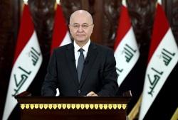 الرئيس العراقي يحث لعدم ترشيح شخصية حزبية لرئاسة الوزراء