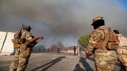 صور.. خلل فني يعطل اطلاق 7 صواريخ في بغداد