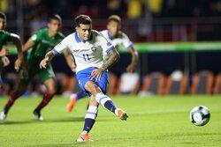 ثنائية كوتينيو تقود البرازيل للفوز على بوليفيا