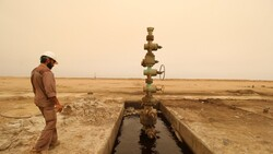 More than 6 billion and a half billion dollars is Iraq's oil revenues in a month