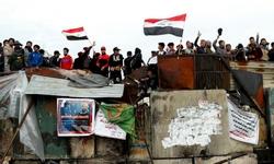"""ما حقيقة انسحاب """"القبعات الزرق"""" من ساحة التحرير وسط العاصمة بغداد؟"""