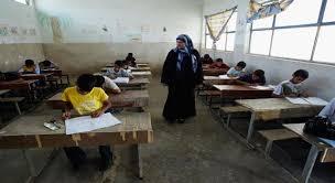 تلاميذ أول محافظة عراقية يتوجهون إلى مدارسهم في ازمة كورونا