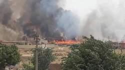مصرع شابين اثر حريق في سنجار