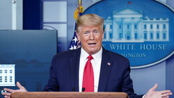 Trump: We closer to return our country to normal