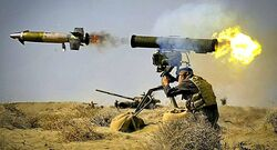 Cornet missiles destroy ISIS's vehicles in Salahuddin