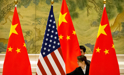 الصين تهدد امريكا