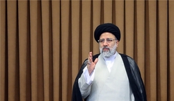 Iran's President Raisi says US 'defeat' in Afghanistan a chance for lasting peace