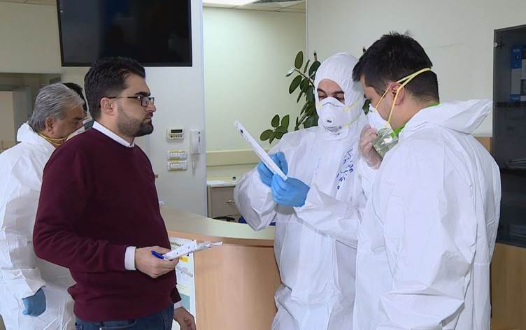 افتتاح مختبر جديد للفحص من فيروس كورونا في اقليم كوردستان